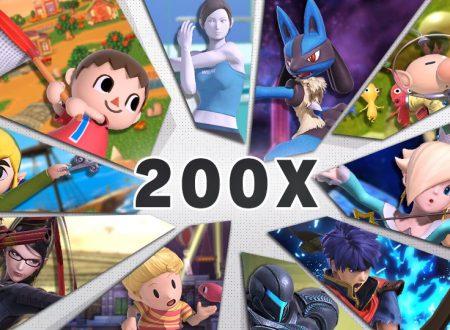 Super Smash Bros. Ultimate: svelato l'arrivo del torneo: Correva l'anno 200X