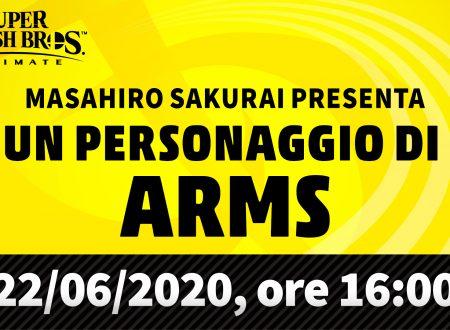 Super Smash Bros. Ultimate: svelata una presentazione che rivelerà il personaggio di ARMS nel roster
