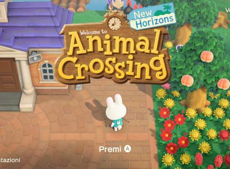 Animal Crossing: New Horizons, il titolo aggiornato alla versione 1.3.1 sui Nintendo Switch europei