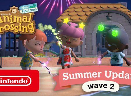 Animal Crossing: New Horizons, svelati i contenuti del secondo aggiornamento estivo, fuochi d'artificio, La casa del Sogno di Sonia e il backup delle isole