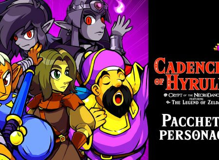 Cadence of Hyrule: uno sguardo in video gameplay al DLC di Impa, Link e Zelda Ombra
