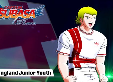 Captain Tsubasa: Rise of New Champions, pubblicato un trailer dedicato all'England Junior Youth