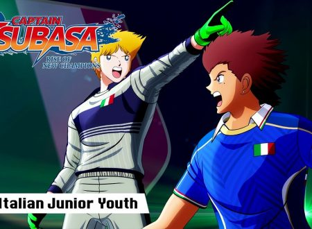 Captain Tsubasa: Rise of New Champions, pubblicato un trailer dedicato all'Italian Junior Youth
