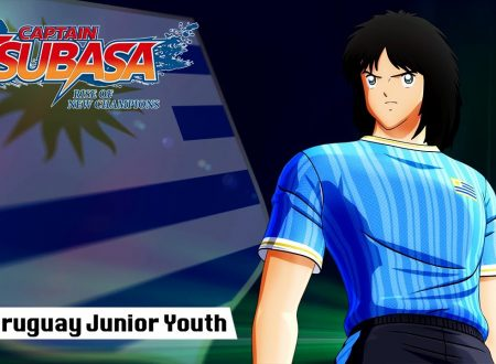 Captain Tsubasa: Rise of New Champions, pubblicato un trailer dedicato all'Uruguay Junior Youth