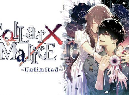 Collar X Malice: Unlimited, il titolo in arrivo il 13 agosto sull'eShop di Nintendo Switch
