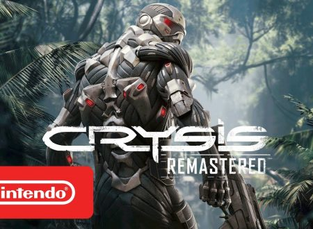 Crysis Remastered: pubblicato il trailer di lancio del titolo su Nintendo Switch