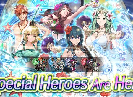 Fire Emblem Heroes: ora disponibili i nuovi Eroi speciali: Ricordi di mare