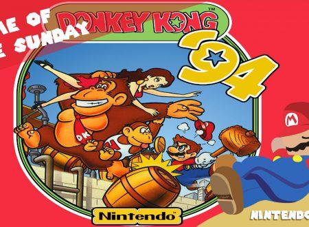 Game of the Sunday – Il gioco della domenica: una run completa di Donkey Kong '94 su Game Boy nel 2020