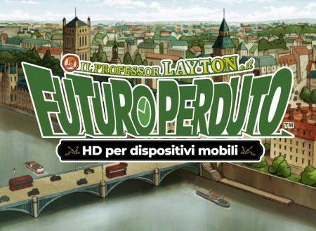 Il Professor Layton e il futuro perduto HD: pubblicato il trailer di lancio del terzo capitolo in arrivo su mobile
