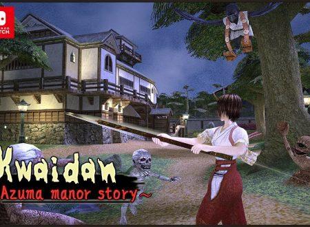 Kwaidan: Azuma Manor Story, il titolo in arrivo il 20 agosto su Nintendo Switch