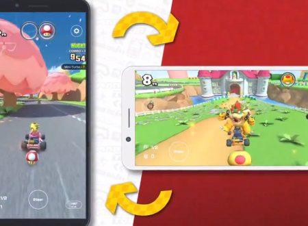 Mario Kart Tour: annunciato l'arrivo della Landscape mode con il prossimo aggiornamento