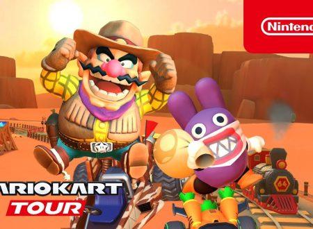 Mario Kart Tour: pubblicato un nuovo trailer dedicato al Tour del Far West, ora disponibile