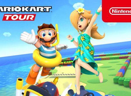 Mario Kart Tour: pubblicato un trailer sul nuovo Tour Marino, ora disponibile