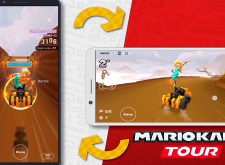 Mario Kart Tour: uno sguardo in video gameplay alla Landscape mode su Android