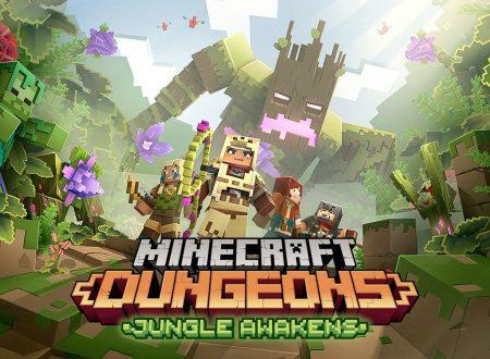 Minecraft Dungeons: il titolo aggiornato alla versione 1.3.2.0 su Nintendo Switch