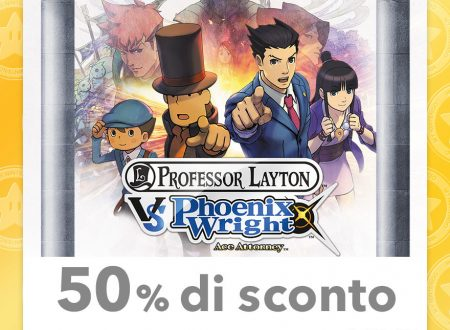 My Nintendo: nuovi sconti per Il Professor Layton vs. Phoenix Wright: Ace Attorney e Pilotwings Resort ed altri