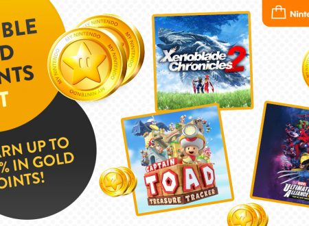 Nintendo eShop: aggiunti Xenoblade Chronicles 2, Captain Toad: Treasure Tracker e MARVEL ULTIMATE ALLIANCE 3: The Black Order al Festival dei punti d'oro doppi