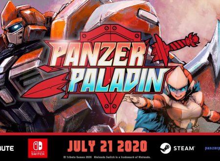 Panzer Paladin: il titolo in arrivo il 21 luglio sull'eShop di Nintendo Switch
