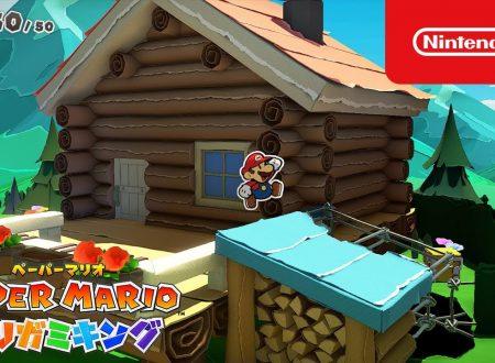 Paper Mario: The Origami King, pubblicati altri due video commercial giapponesi