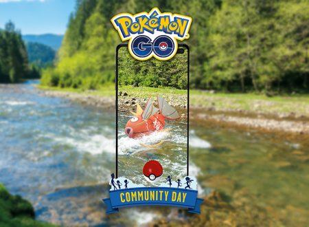 Pokèmon GO: Magikarp sarà protagonista del Community Day del mese di agosto 2020
