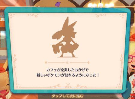 Pokémon Cafe Mix: svelato l'arrivo imminente di nuovi stage con Lucario