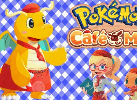 Pokémon Cafe Mix: uno sguardo in video gameplay all'evento speciale con Dragonite
