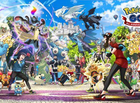 Pokémon GO: pubblicato un artwork per il 4° anniversario e un video promozionale sul Pokémon GO Fest 2020