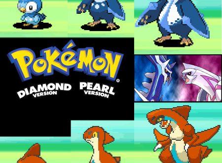 Pokemon Diamante e Perla: i nuovi leak rivelato gli sprites beta dei mostriciattoli di quarta generazione