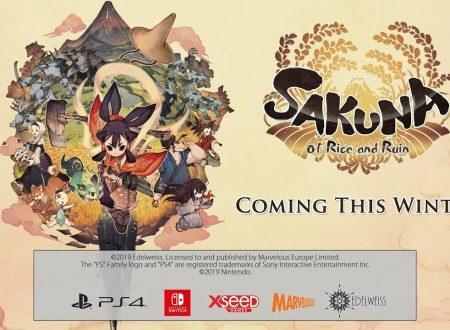 Sakuna: Of Rice and Ruin, il titolo in arrivo il 20 novembre sull'eShop di Nintendo Switch