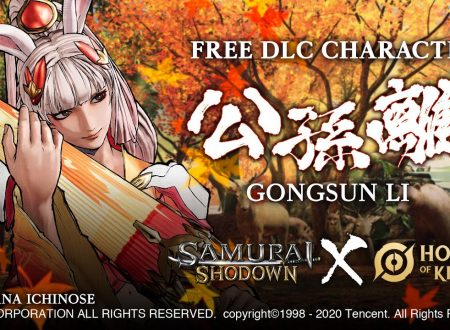 Samurai Shodown: Gongsun Li di Honor of Kings in arrivo il 5 agosto come DLC