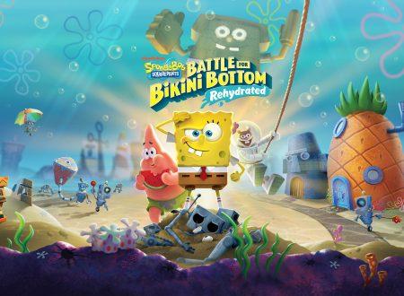 SpongeBob SquarePants: Battle for Bikini Bottom – Rehydrated, il titolo aggiornato alla versione 1.0.2 sui Nintendo Switch europei