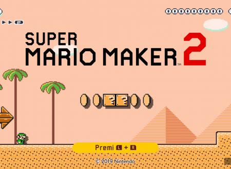 Super Mario Maker 2: il titolo ora aggiornato alla versione 3.0.1 sui Nintendo Switch europei