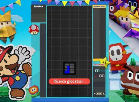 Tetris 99: uno sguardo in video al quindicesimo Grand Prix a tema Paper Mario: The Origami King