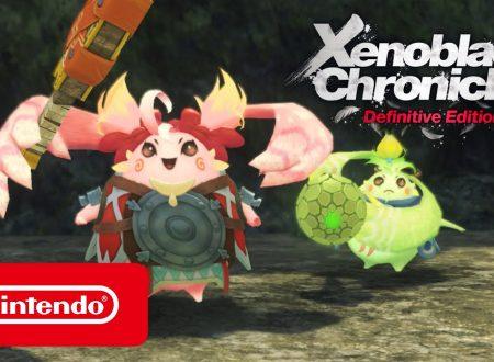 Xenoblade Chronicles: Definitive Edition, un trailer ci presenta Nene e Kino
