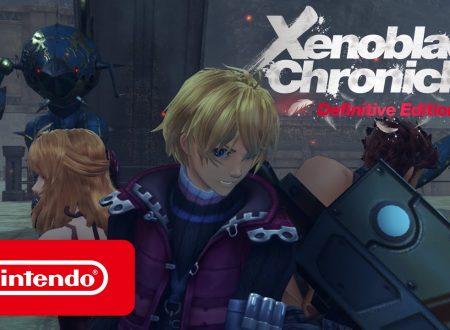 Xenoblade Chronicles: Definitive Edition, un trailer ci fa conoscere meglio Shulk, Reyn e Fiora