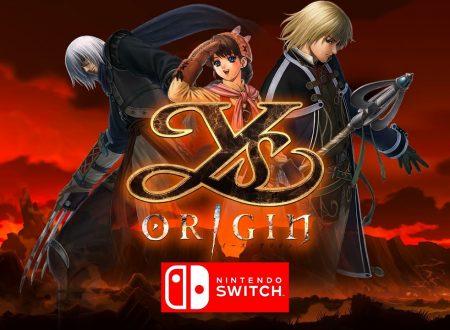Ys Origin, il titolo annunciato per l'approdo nel 2020 sui Nintendo Switch europei