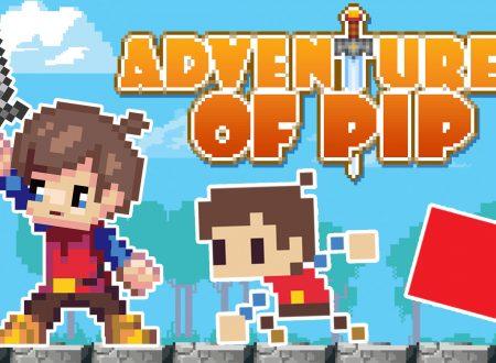 Adventures of Pip: il titolo in arrivo il 10 settembre sull'eShop di Nintendo Switch