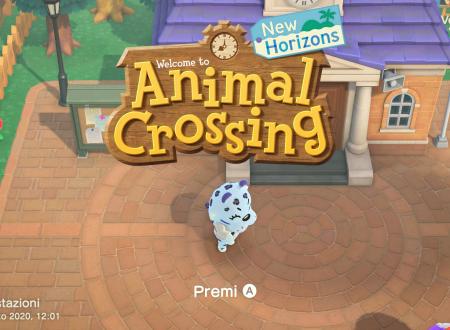 Animal Crossing: New Horizons, il titolo aggiornato alla versione 1.4.2 sui Nintendo Switch europei