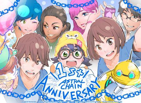 Astral Chain: il titolo festeggia il suo primo anniversario su Nintendo Switch