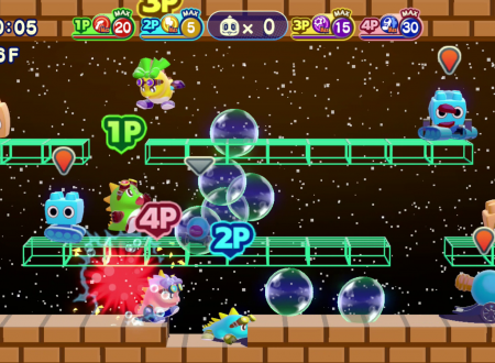 Bubble Bobble 4 Friends: The Baron is Back! in arrivo il 17 novembre su Nintendo Switch