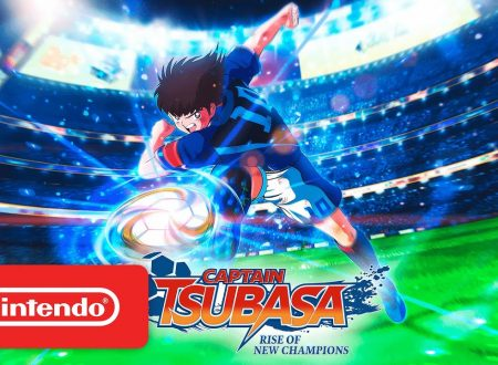 Captain Tsubasa: Rise of New Champions, pubblicato il trailer di lancio su Nintendo Switch