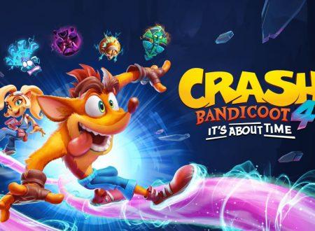 Crash Bandicoot 4: It's About Time, il titolo potrebbe arrivare su Nintendo Switch secondo il sito ufficiale