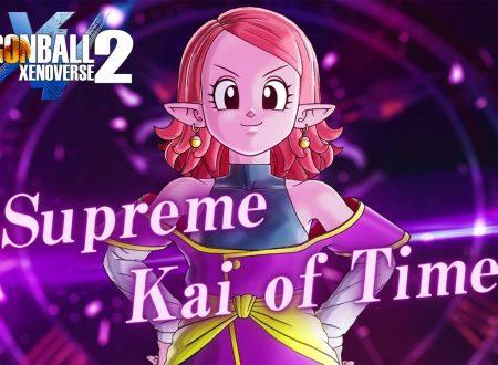 Dragon Ball Xenoverse 2: l'aggiornamento di Chronoa in arrivo il 26 agosto su Nintendo Switch