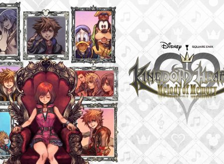 Kingdom Hearts: Melody of Memory, il titolo in arrivo il 13 novembre su Nintendo Switch