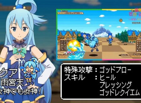 KonoSuba: God's Blessing on this Wonderful World!, svelato un minigame shoot 'em up per i primi acquirenti su Nintendo Switch