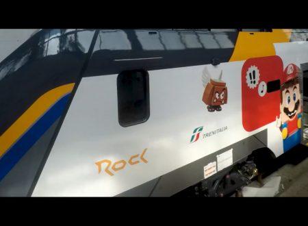 LEGO Super Mario: svelata una collaborazione con il treno Rock di Trenitalia