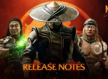 Mortal Kombat 11: Aftermath, pubblicato il changelog del nuovo aggiornamento su Nintendo Switch