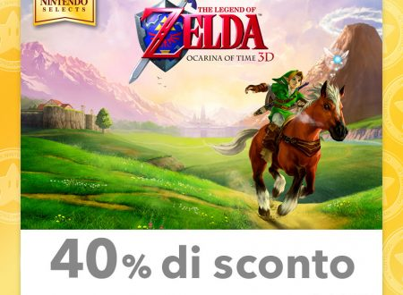 My Nintendo: nuovi sconti per Nintendo Selects: Super Mario 3D Land, The Legend of Zelda: Ocarina of Time 3D ed altri