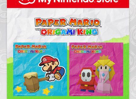 My Nintendo: ora disponibili dei blocchi per appunti di Paper Mario: The Origami King