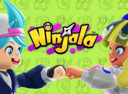 Ninjala: il titolo aggiornato alla versione 2.0 sui Nintendo Switch europei